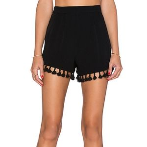 Revolve NBD Night Moves High Waist Shorts Size XS